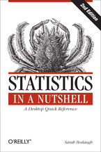Okładka książki Statistics in a Nutshell. A Desktop Quick Reference. 2nd Edition