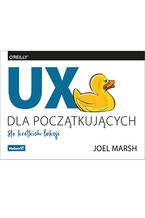 Okładka książki UX dla początkujących. Sto krótkich lekcji