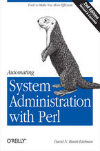 Okładka książki Automating System Administration with Perl. Tools to Make You More Efficient. 2nd Edition