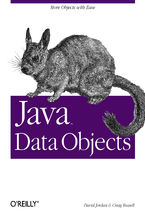 Okładka książki Java Data Objects. Store Objects with Ease