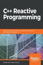 Okładka książki C++ Reactive Programming