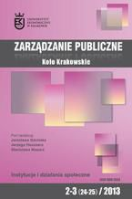 Zarządzanie Publiczne nr 2-3(24-25)/2013 - Michał Możdżeń: Tragedia wspólnych zasobów w procesie politycznym