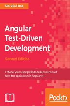 Okładka książki Angular Test-Driven Development - Second Edition