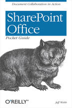 Okładka książki SharePoint Office Pocket Guide