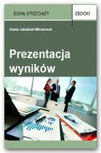 Okładka książki Prezentacja wyników