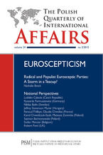 The Polish Quarterly of International Affairs nr 2/2015