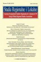 Studia Regionalne i Lokalne nr 4(62)/2015