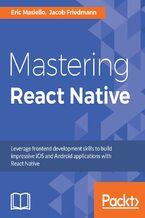 Okładka książki Mastering React Native