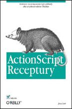 Okładka książki ActionScript. Receptury