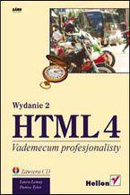 Okładka książki HTML 4. Vademecum profesjonalisty. Wydanie II