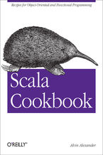 Okładka książki Scala Cookbook. Recipes for Object-Oriented and Functional Programming