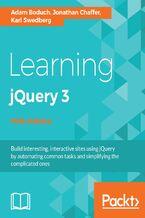 Okładka książki Learning jQuery 3 - Fifth Edition