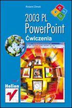 Okładka książki PowerPoint 2003 PL. Ćwiczenia