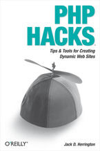 Okładka książki PHP Hacks. Tips & Tools For Creating Dynamic Websites