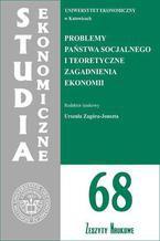 Problemy państwa socjalnego i teoretyczne zagadnienia ekonomii. SE 68