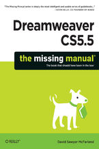 Okładka książki Dreamweaver CS5.5: The Missing Manual