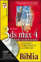 Okładka książki 3ds max 4. Techniki modelowania. Biblia