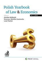 Polish Yearbook of Law and Economics. Vol. 1 (2010)