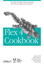 Okładka książki Flex 4 Cookbook. Real-world recipes for developing Rich Internet Applications