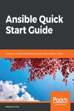 Okładka książki Ansible Quick Start Guide