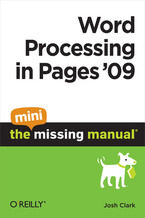 Okładka książki Word Processing in Pages '09: The Mini Missing Manual