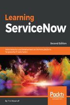 Okładka książki Learning ServiceNow