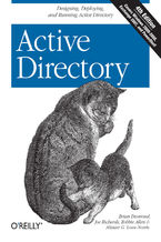 Okładka książki Active Directory. Designing, Deploying, and Running Active Directory. 4th Edition