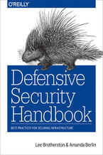 Okładka książki Defensive Security Handbook. Best Practices for Securing Infrastructure