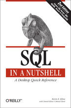 Okładka książki SQL in a Nutshell. A Desktop Quick Reference
