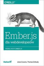 Okładka książki Ember.js dla webdeveloperów