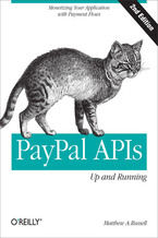 Okładka książki PayPal APIs: Up and Running. 2nd Edition