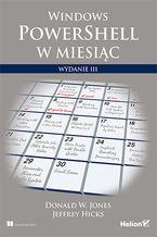 Okładka książki Windows PowerShell w miesiąc. Wydanie III