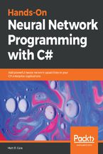 Okładka książki Hands-On Neural Network Programming with C#