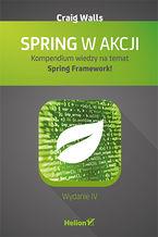 Okładka książki Spring w akcji. Wydanie IV