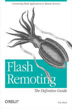Okładka książki Flash Remoting: The Definitive Guide. Connecting Flash MX Applications to Remote Services