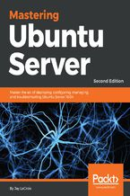 Okładka książki Mastering Ubuntu Server