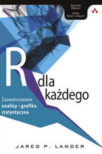 Okładka książki Język R dla każdego: zaawansowane analizy i grafika statystyczna. zaawansowane analizy i grafika statystyczna