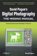 Okładka książki David Pogue's Digital Photography: The Missing Manual. The Missing Manual