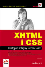 XHTML i CSS. Dostępne witryny internetowe