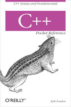 Okładka książki C++ Pocket Reference. C++ Syntax and Fundamentals