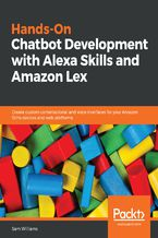 Okładka książki Hands-On Chatbot Development with Alexa Skills and Amazon Lex