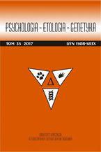 Psychologia-Etologia-Genetyka nr 35/2017