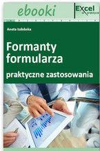 Okładka książki Formanty formularza w praktycznych zastosowaniach