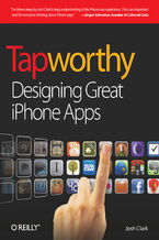 Okładka książki Tapworthy. Designing Great iPhone Apps