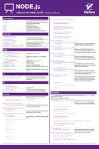 Okładka książki Tablice informatyczne. Node.js