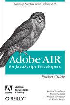Okładka książki AIR for Javascript Developers Pocket Guide. Getting Started with Adobe AIR