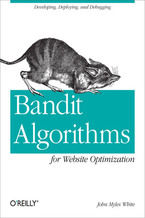 Okładka książki Bandit Algorithms for Website Optimization