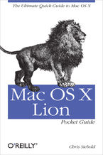 Okładka książki Mac OS X Lion Pocket Guide. The Ultimate Quick Guide to Mac OS X