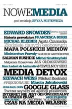 NOWE MEDIA pod redakcją Eryka Mistewicza Kwartalnik 5/2013