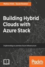 Okładka książki Building Hybrid Clouds with Azure Stack
